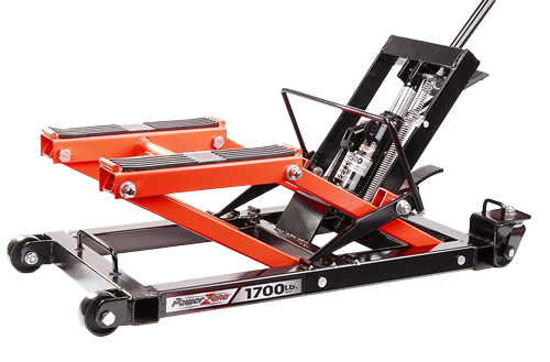 PowerZone 380047 1700 LB Hydraulic Motorcycle Lift