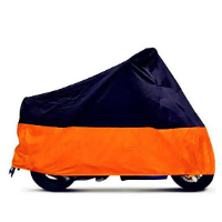 Tokept Black and Orange Motorcycle Cover