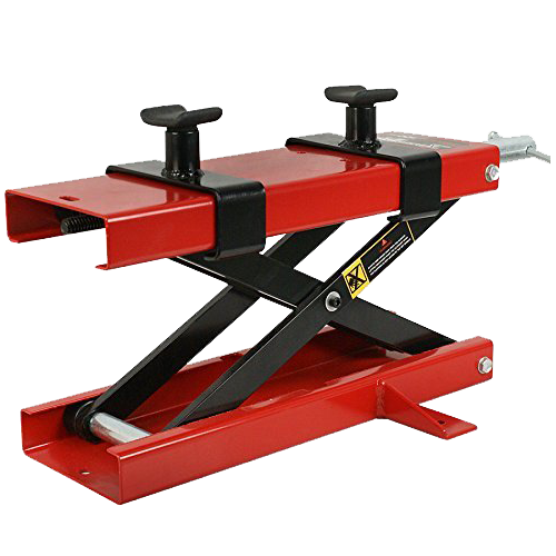 ZENY 1100 LB Motorcycle Center Scissor Lift Jack
