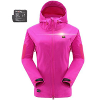 DEWBU Soft Shell Heated Jacket