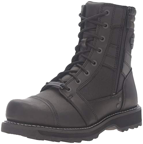 Harley-Davidson Mens Boxbury Blacked Out Motorcycle Boots