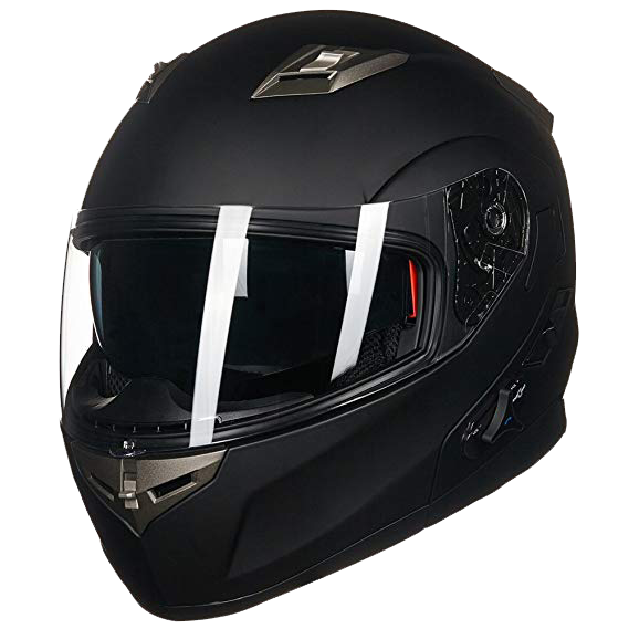 ILM Bluetooth Integrated Modular Flip Up Helmet