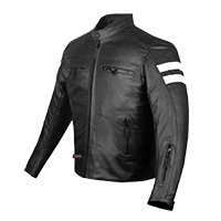 Leather Jacket Motorcycle Armor safety