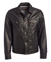 Levis Leather Motorcycle Jacket