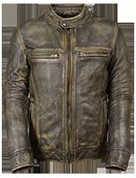 Milwaukee Leather Distressed Jacket