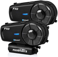 FODSPORTS FX8 Motorcycle Bluetooth Intercom